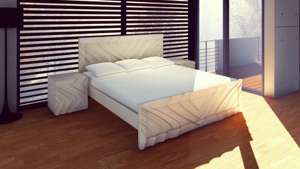 cama-de-madera-maciza-con-formas-referencia-ferrara-blanca
