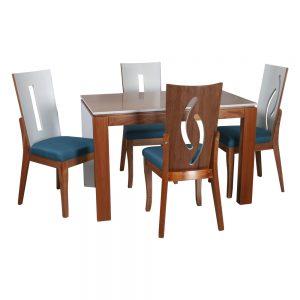 mesa-comedor-en-madera-sencilla-deluxe-silla-de-comedor-tiffany-en-madera