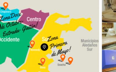 ¿Donde encontrar las zonas de muebles en Bogotá?